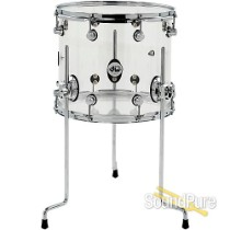 DW Design Series 12x14 Acrylic Floor Tom Drum