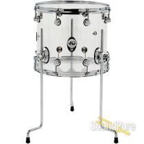 DW Design Series 12x14 Acrylic Floor Tom Drum