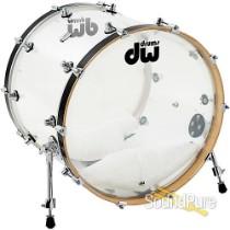 DW Design Series 18x22 Bass Drum Acrylic