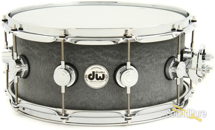 dw collector 39 s series snare drum concrete. Black Bedroom Furniture Sets. Home Design Ideas