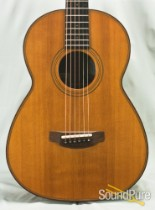 """Andrew Manson 00/Parlor  """"Kingfisher"""" Acoustic Guitar#850276"""