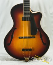 Clay Conner Model 415 Archtop Sunburst #3-8-14