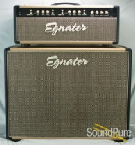 Egnater Mod 50 (USA Made) w/ 2x12 Cabinet Amplifier - Used