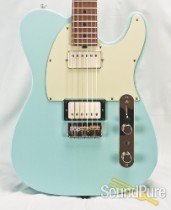 Michael Tuttle Tuned T Sonic Blue Roasted Maple #345