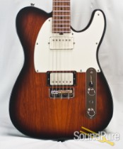 Michael Tuttle Tuned T 2-Tone Burst Roasted Birdseye #346