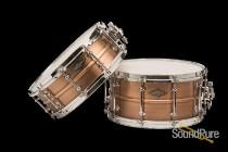 Craviotto 7x14 AK Masters Bronze Snare Drum Limited Edition