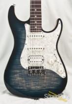 Suhr Standard Pro Faded Trans Whale Blue Burst IRW Guitar