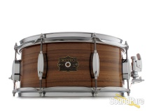 Metro Drums 6.25x14 Queensland Walnut Ply Snare Drum-Gloss