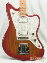 Tuttle J-Master Cherry Sunburst Electric Guitar - Used