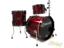 Noble & Cooley 3pc Horizon Drum Set-Dark Cherry Gloss/Black