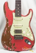 Suhr Classic Antique Extreme Fiesta Red HSS  #28850 - USED