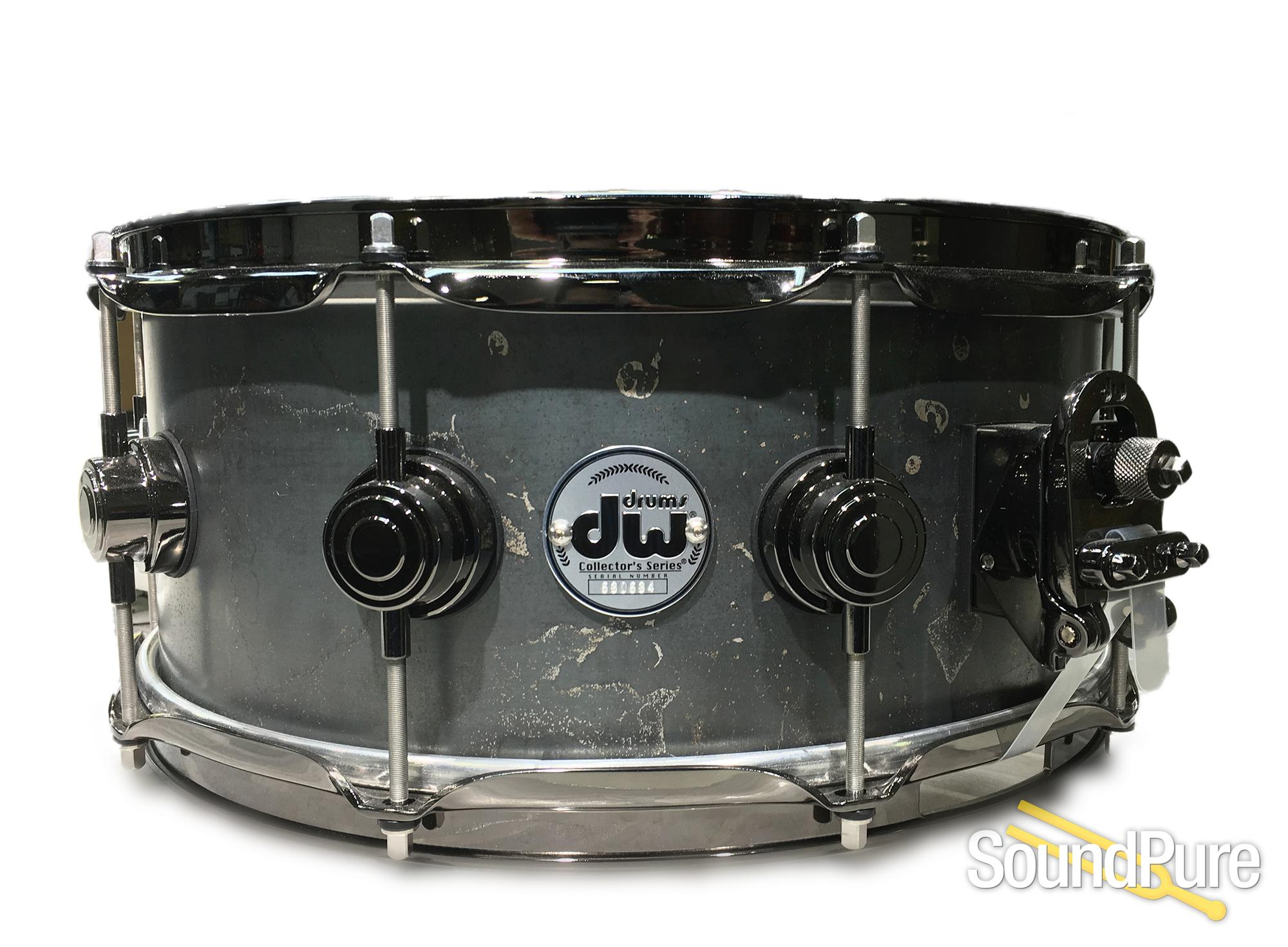 DW 6x14 Keplinger Black Iron Limited Edition Snare Drum