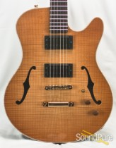 Buscarino Starlight Flame Maple Archtop Guitar #SP01117716