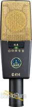 AKG C 414 XLII Multi-pattern Reference Condenser Demo/Open Box