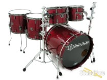 Noble & Cooley 5pc Horizon Drum Set-Dark Cherry Gloss/Black