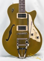Duesenberg Starplayer TV Gold Top Semi-Hollow Guitar #152187