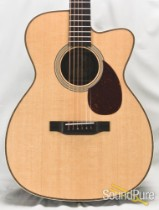 Collings OM2H Sitka Spruce/Indian Rosewood Cutaway #25563