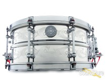 Dunnett Classic 6.5x14 2N Aluminum Snare Drum-Engraved Demo/Open Box