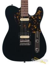 Michael Tuttle Tuned ST Satin Black Electric Guitar #370