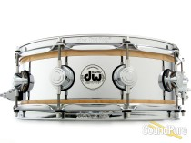 DW 5x14 Collector's Reverse Edge Snare Drum - Natural Gloss
