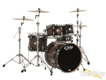 PDP 5pc Concept Maple Exotic Drum Set-Charcoal Burst