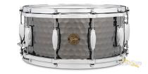 Gretsch 6.5x14 Hammered Black Steel Snare Drum Demo/Open Box