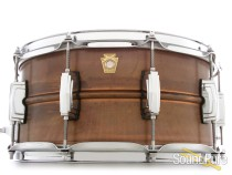 Ludwig 6.5x14 Patina Copper Snare Drum