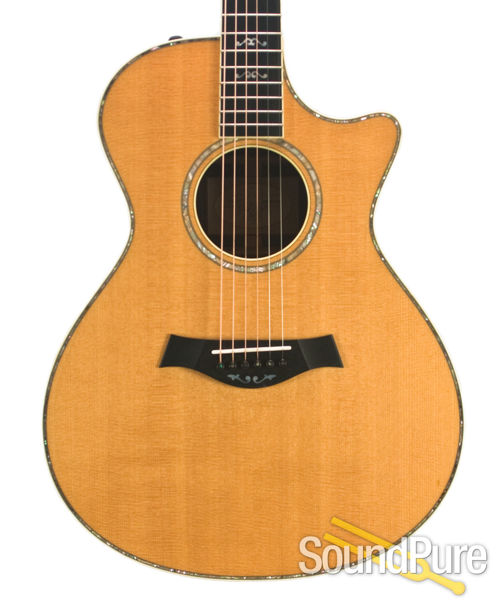 Warriors Imagine Dragons Electric Guitar Tab: Taylor 2007 912CE Acoustic/Electric Guitar - Used