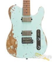 Suhr Classic T Extreme Antique Sonic Blue HH Guitar #29075
