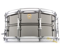 Ludwig 6.5x14 Black Beauty Snare Drum-Tube Lugs