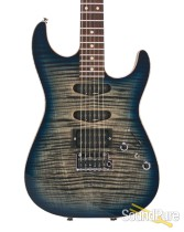 Anderson Drop Top Natural Black to Dark Blue Burst 06-06-16A