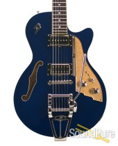 Duesenberg Starplayer TV Blue Sparkle Semi-Hollow #161059