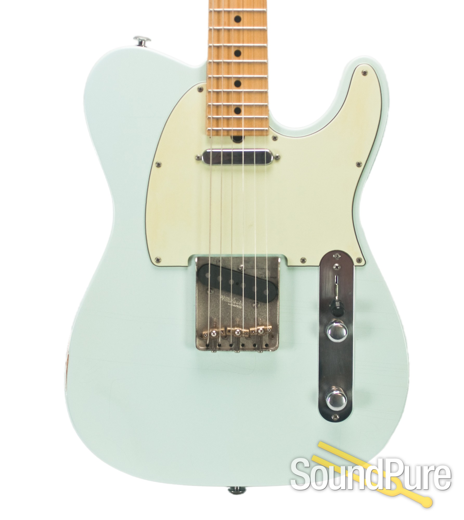 Suhr Classic T Antique Sonic Blue Ss Signed 7063 Used