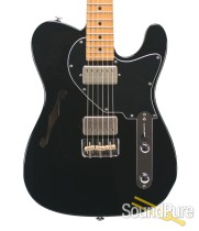 Suhr Alt T Pro Black HH Electric Guitar #JST9R7E