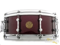 Gretsch 5.5x14 New Classic Maple Snare Drum-Merlot Sparkle