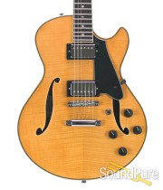 Comins GCS-1 Vintage Blonde Semi-Hollow Electric #112175
