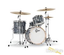 Gretsch 4pc Renown Drum Set Silver Oyster Pearl RN2-J484 Demo/Open Box