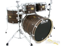Pork Pie 4pc Maple Drum Set- Macassar Ebony
