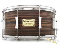 Pork Pie 7x14 Maple Snare Drum-Macassar Ebony Veneer