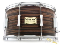 Pork Pie 8x14 Maple Snare Drum-Macassar Ebony Veneer