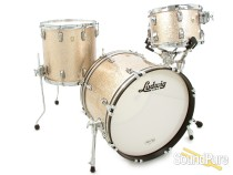 Ludwig 3pc Classic Maple Drum Set Champagne Sparkle
