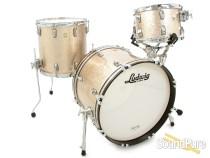 Ludwig 3pc Classic Maple Drum Set Champagne Sparkle