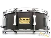 Pork Pie 6x14 Maple Rosewood Snare Drum- Flat Grey Metallic