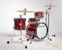 Ludwig Breakbeats Drum Set Wine Red Sparkle