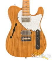 Suhr Alt T Pro Vintage Natural HH Electric Guitar #JST0T4L