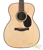 Santa Cruz OM Grand Bearclaw Sitka Acoustic Guitar #222