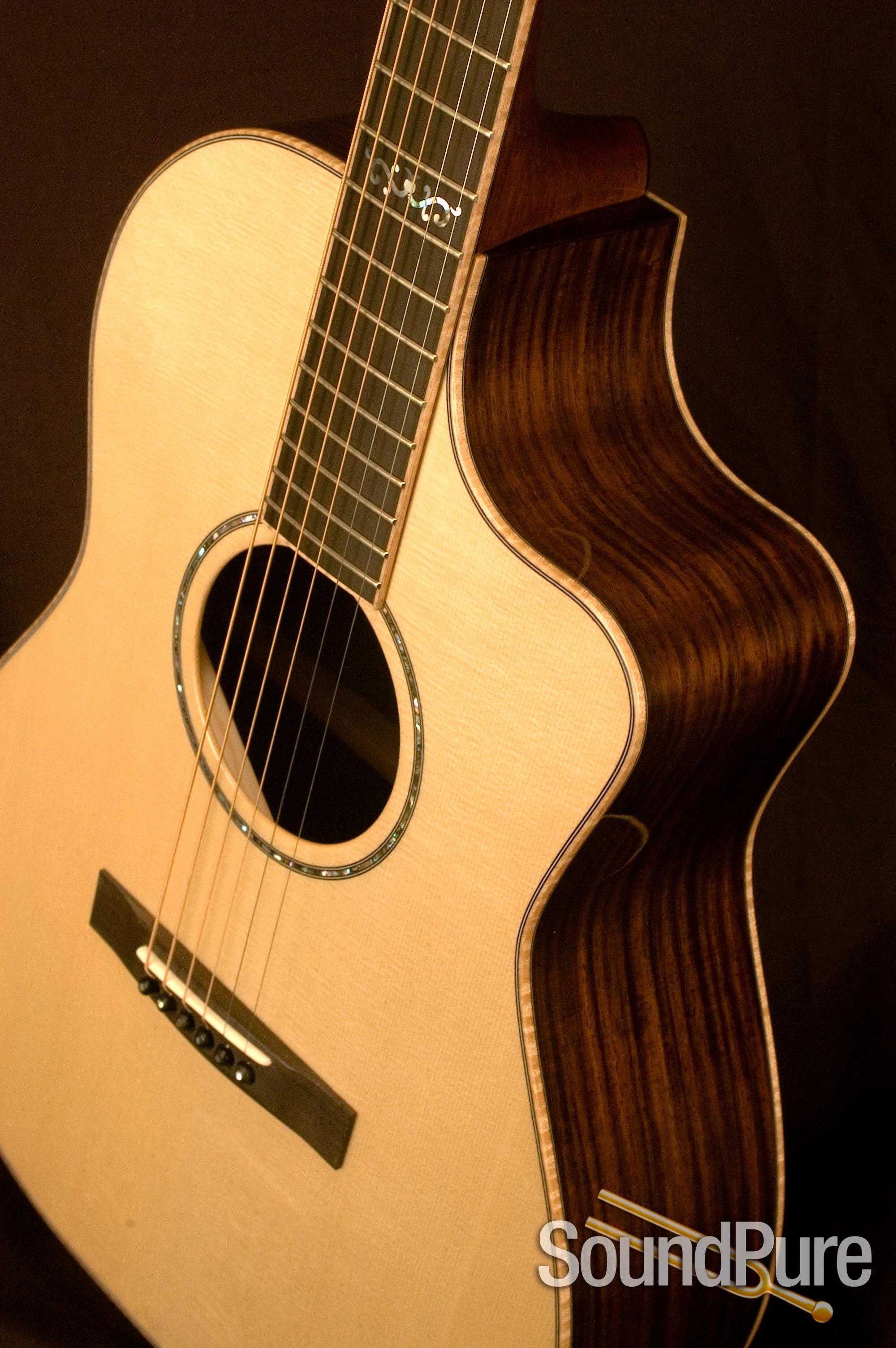 Huss & Dalton Concert Cutaway Acoustic Guitar - NEW ...