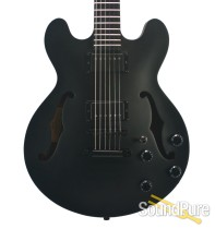 Eastman T184MX-LS Black Semi-Hollow #10455113 - Used