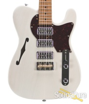 John Suhr Custom Classic T Trans White TV Jones #31386