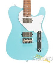 Suhr Classic T Daphne Blue Roasted HH Electric #29902